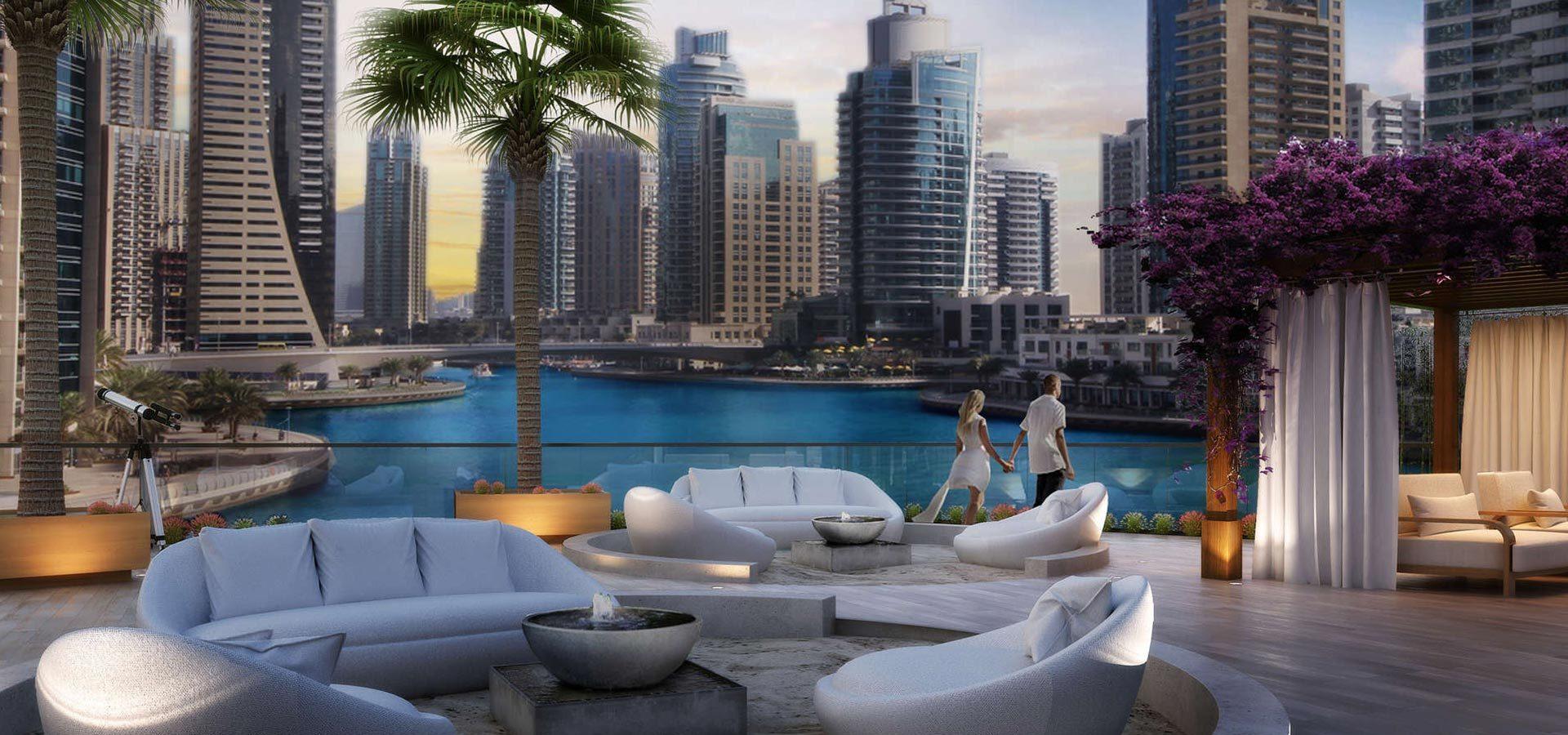 Апартаменты LIV Residence в районе Дубай Марина – Экстерьер