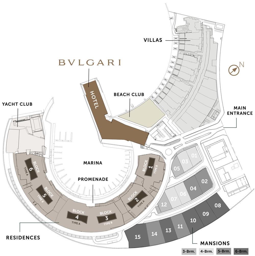Meraas BVLGARI Resort & Residences at Dubai Jumeirah Bay