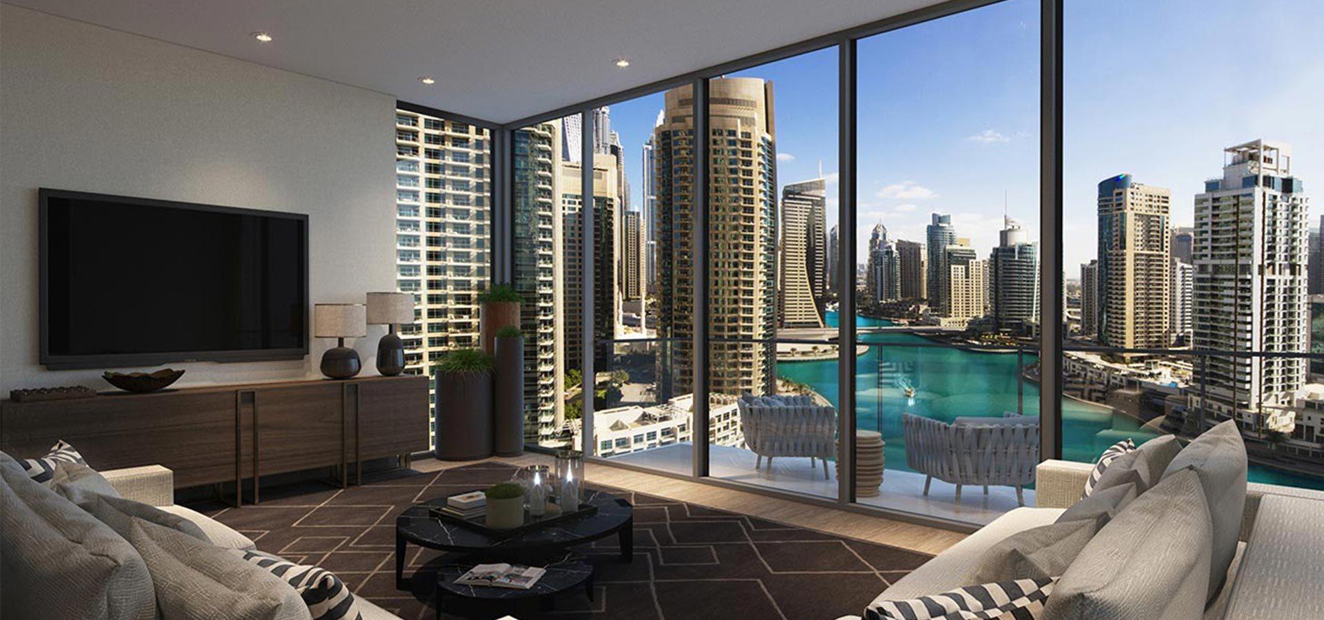 Апартаменты LIV Residence в районе Дубай Марина – Интерьер