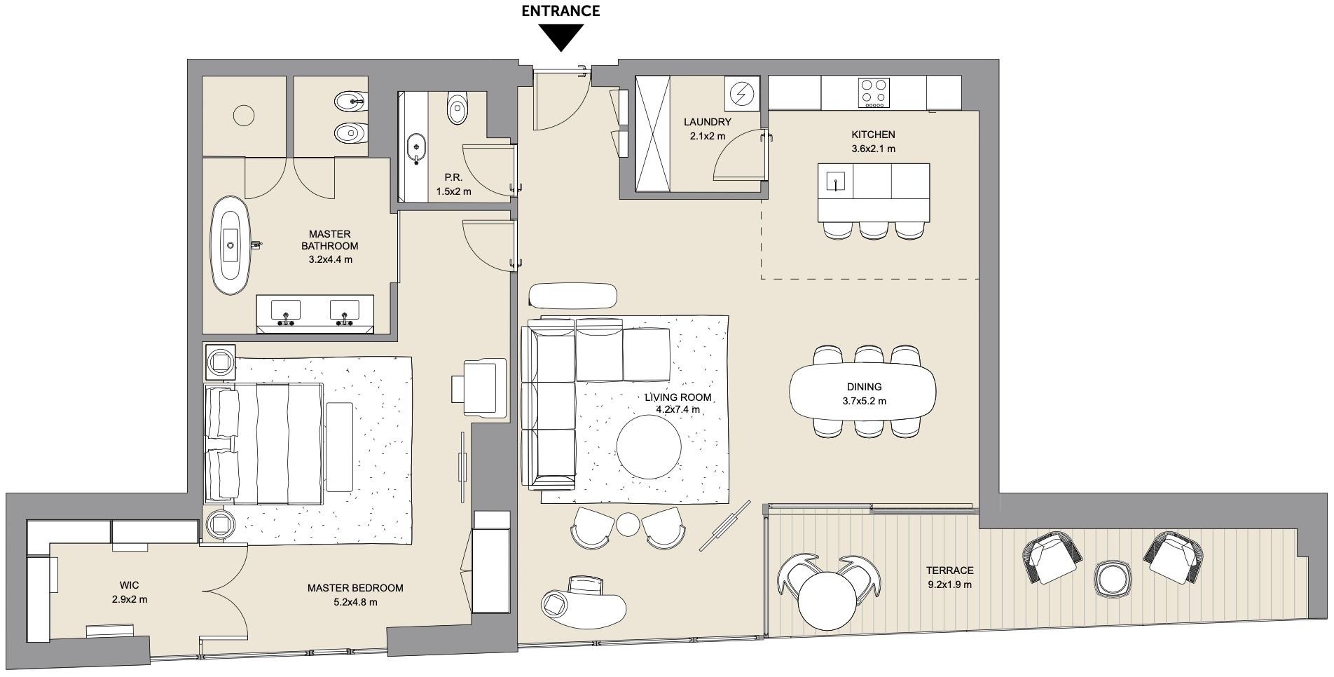 Meraas BVLGARI Resort & Residences at Dubai Jumeirah Bay Floor Plans