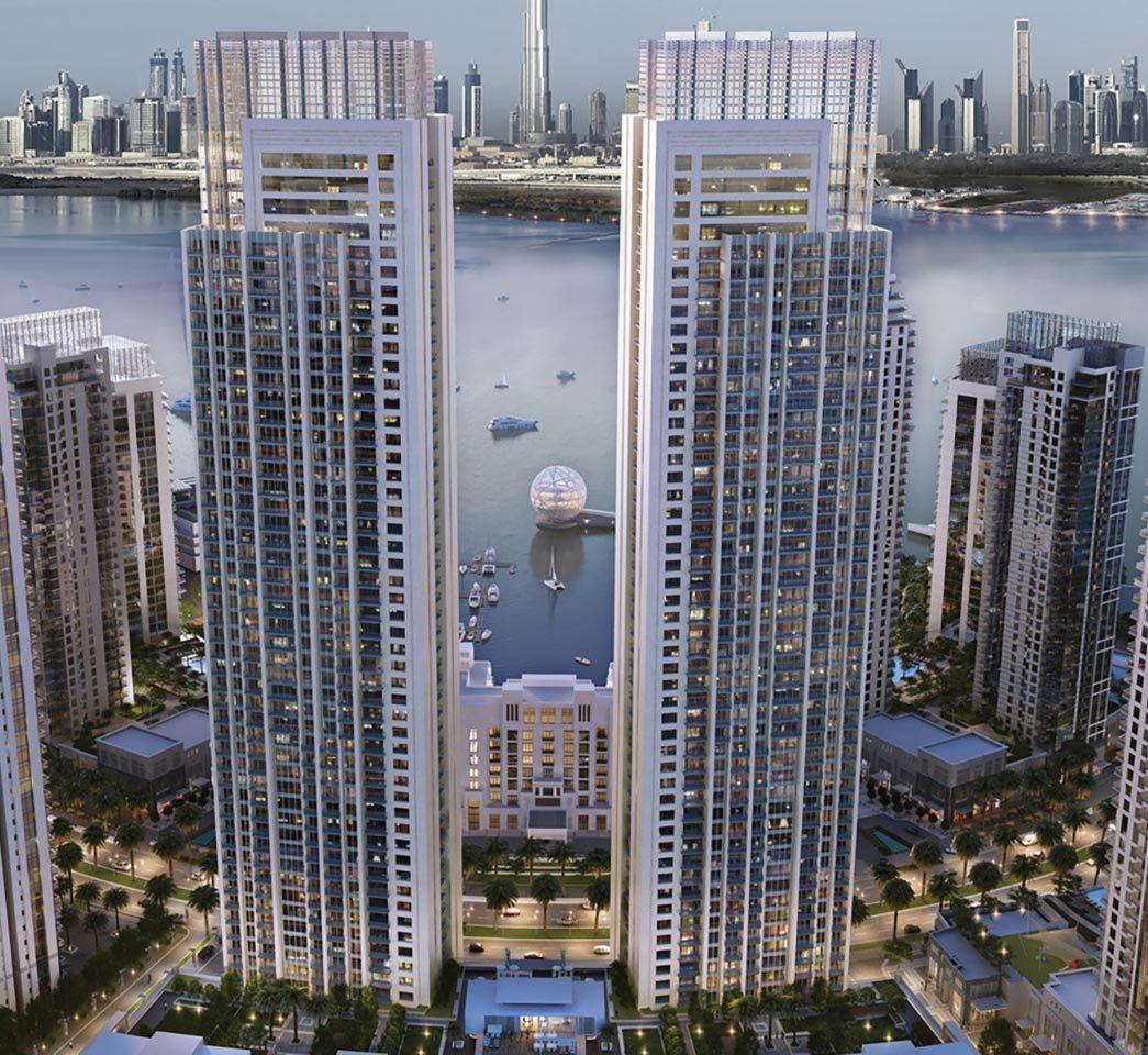 Emaar Harbour Views Apartments in Dubai Creek Harbour