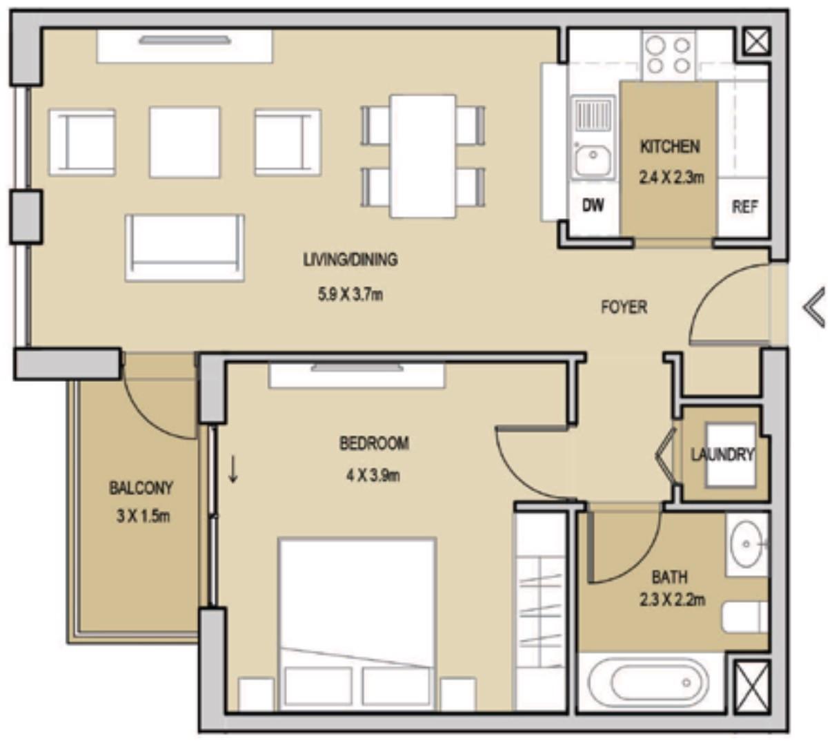 Dubai Properties Mudon Views Floor Plans