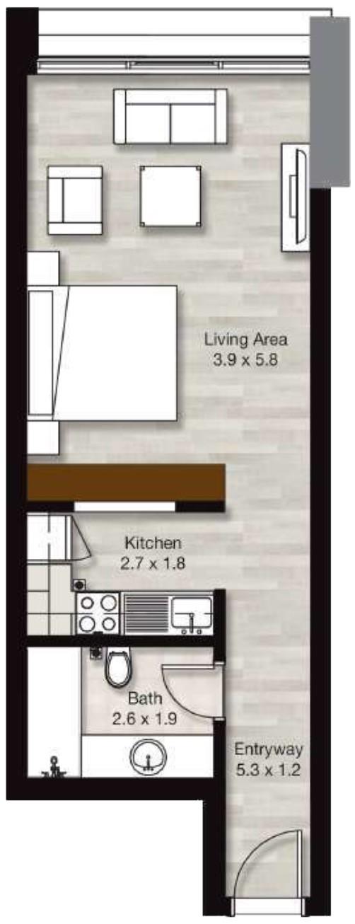 LIV Residence in Dubai Marina – Studios & Apartments for Sale