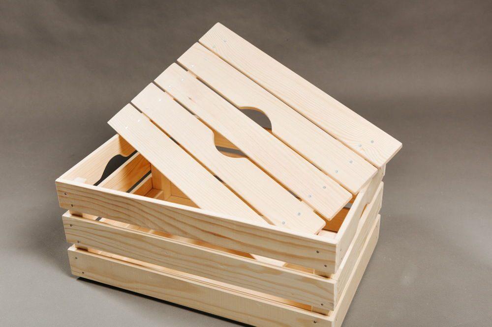 Деревянные коробки фланель ткань купить в краснодаре